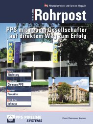 Nr. 6 11/2002 - PPS Pipeline Systems GmbH