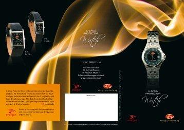 E-Smog Protector Uhren sind ein echtes schweizer Qualitäts ...