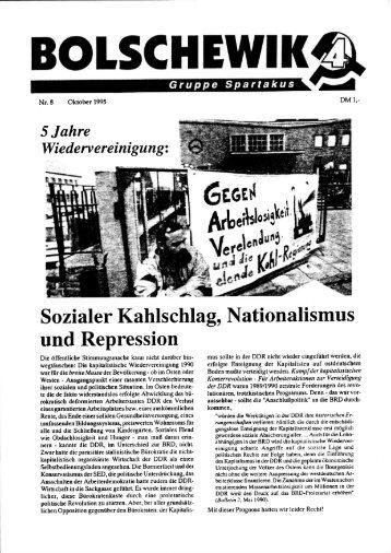 5 Jahre Wiedervereinigung - International Bolshevik Tendency