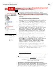 Evangelischer Pressedienst (epd) Page 1 - BDVR
