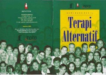 Terapi Alternatif - Yayasan Spiritia