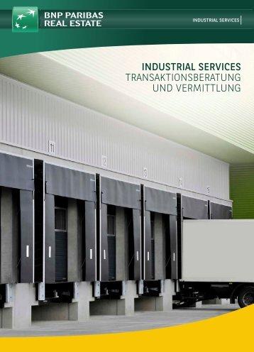 industrial services transaktionsberatung und vermittlung