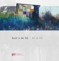 Kunstsammlung der GIZ - Katalog