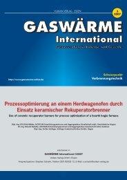 GASWÄRME International 3/2007 - Aichelin
