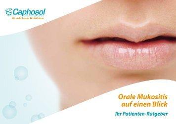 Caphosol Patientenbroschüre - MouthsMadeGood