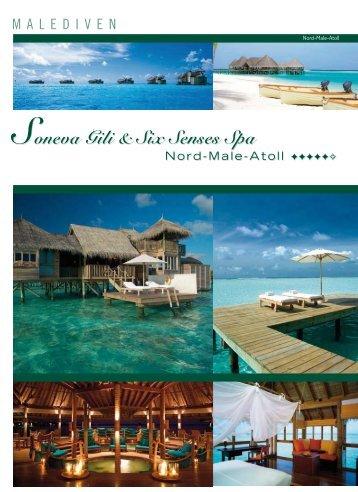 Malediven, Soneva Gili & Six Senses Spa - Travel Designer.ch