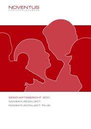 Geschäftsbericht 2011 - Noventus PensionPartner AG