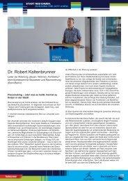 Vortrag Dr. Robert Kaltenbrunner - IBA Hamburg
