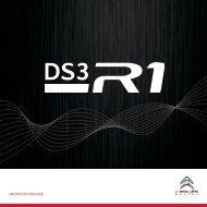 Download aller Informationen zum DS3 R1 - Citroen Trophy