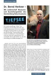 Dr. Bernd Herkner – - TAUNUS EDITION