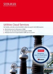 Utilities Cloud Services - Seeburger