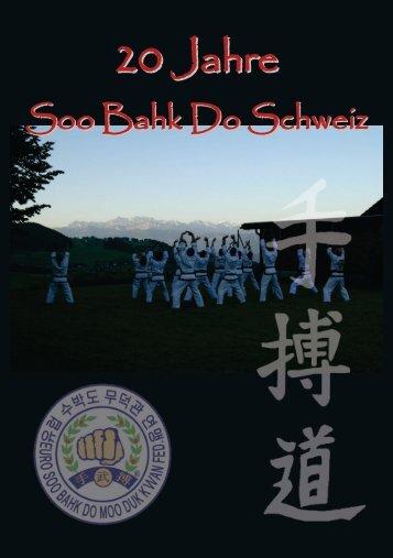 Swiss Soo Bahk Do News Jubiläumsausgabe - Schweiz