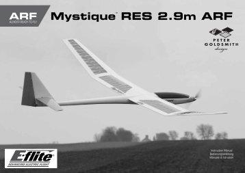 Mystique RES 2.9m ARF - Horizon Hobby UK