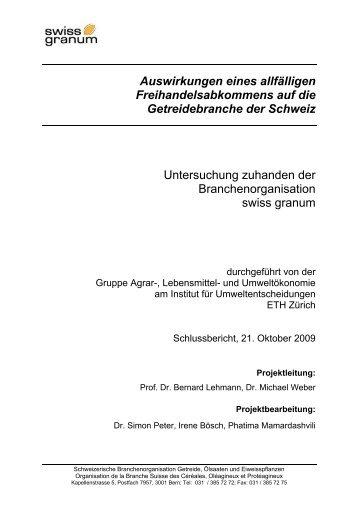 ETHZ-Studie - m (www.swissgranum.ch