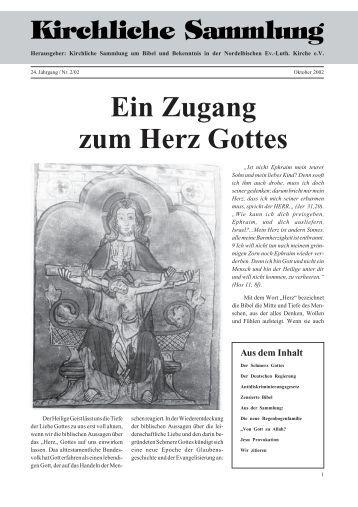 Kirchliche-Sammlung 2002 - Kirchliche Sammlung um Bibel und ...