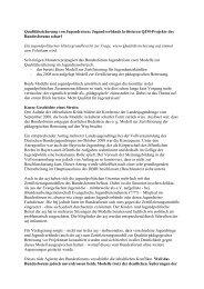 Beitrag aej - Arbeitsgemeinschaft der Evangelischen Jugend