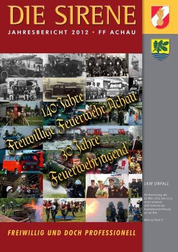 FF Achau Jahresbericht 2012