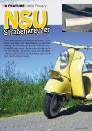 NSU-Restaurationsbericht als PDF-File - Vespafreunde Straubing