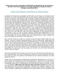 Thema und Variationen in der Arbeit von Thorsten Knaub