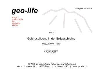 gebirgsbildungen 2 - geo-life