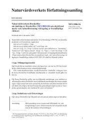 NFS 2006:16 - Naturvårdsverket