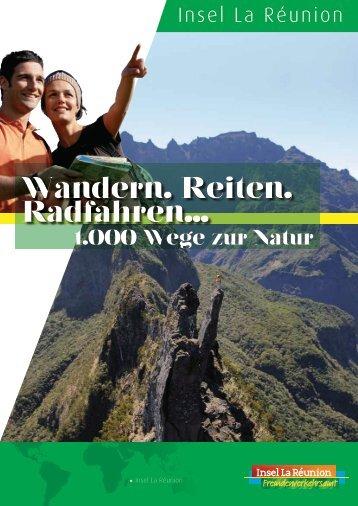 Online-Wanderbroschüre - Ile de La Réunion Tourisme