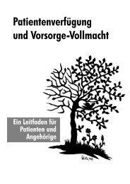 Patientenverfügung Hospizverein - Dr. Helmut Puschmann