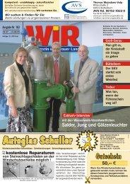 QM VQKP\ V]Z QV 1PZMV - Das WIR-Magazin im Gerauer Land