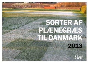 Sorter af plænegræs til Danmark 2013 - STERF - Golf.se