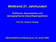 Vortrag als Download - Rotenburger Wirtschaftsforum