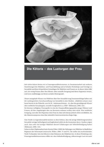 Die Klitoris – das Lustorgan der Frau - Frauengesundheitszentrum ...