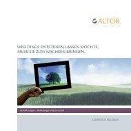 ALTOR Gruppe – Heidelberger Inkasso GmbH