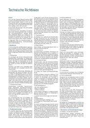 Technische Richtlinien - Messe Reise und Freizeit 2013