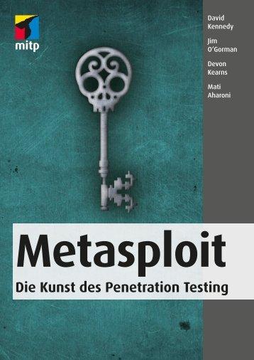 Metasploit - Verlagsgruppe Hüthig Jehle Rehm GmbH