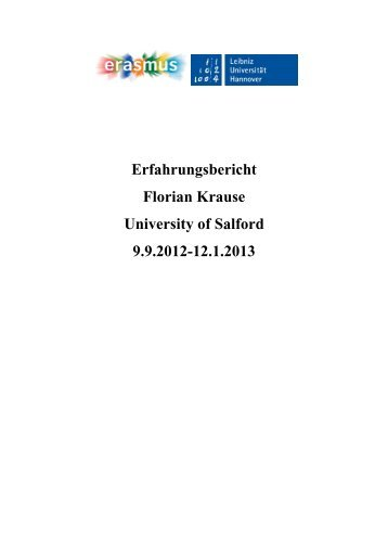 University of Salford - WS12/13