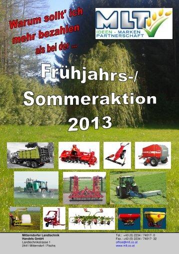 DOWNLOAD Frühjahrsaktion - Mitterndorfer Landtechnik