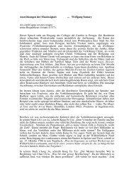 Auswirkungen der Masslosigkeit — Wolfgang Somary Ars cambi ...