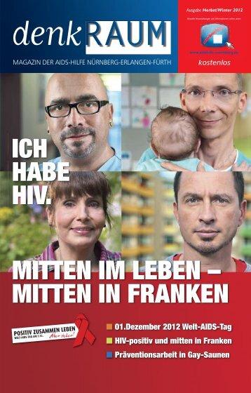 denkraum-ausgabe dezember 2012 - AIDS-Hilfe Nürnberg