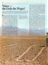 Nazca - das Ende des Weges - Rodiehr