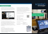 Flyer - Scientia Technologies