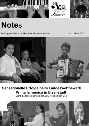 Sensationelle Erfolge beim Landeswettbewerb Prima la musica in ...
