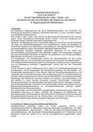 Integrationsvereinbarung nach § 83 SGB IX für die ...