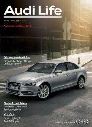 Audi Life Die neuen Audi A4 - Autozentrum Dobler Gmbh