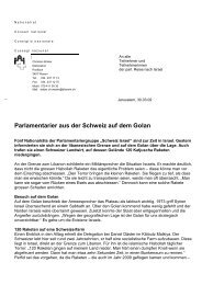 Corporate Identity, Schweizer Parlament - EDU Schweiz
