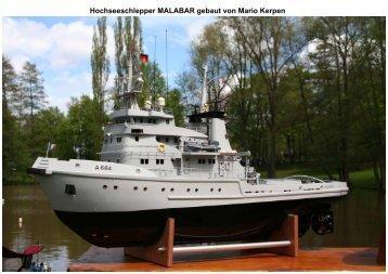 Hochseeschlepper MALABAR gebaut von Mario Kerpen - SMC-Trier