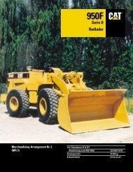 950F Radlader Serie II - Lectura SPECS