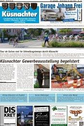 Küsnachter Gewerbeausstellung begeistert - Lokalinfo AG