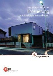 Erneuerung - Nachhaltiges Weiterbauen - Bundesamt für Energie ...
