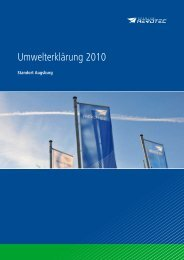 Umwelterklärung (2010, deutsch) (481 KB) - Premium AEROTEC