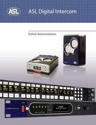 ASL Digital Intercom - ASL Intercom